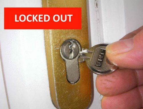 Locked Out: What should you do?